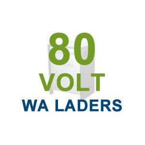 80 Volt WA laders
